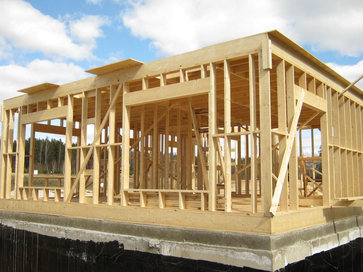 Отделка дома - Строительство каркасных домов по канадской технологии
