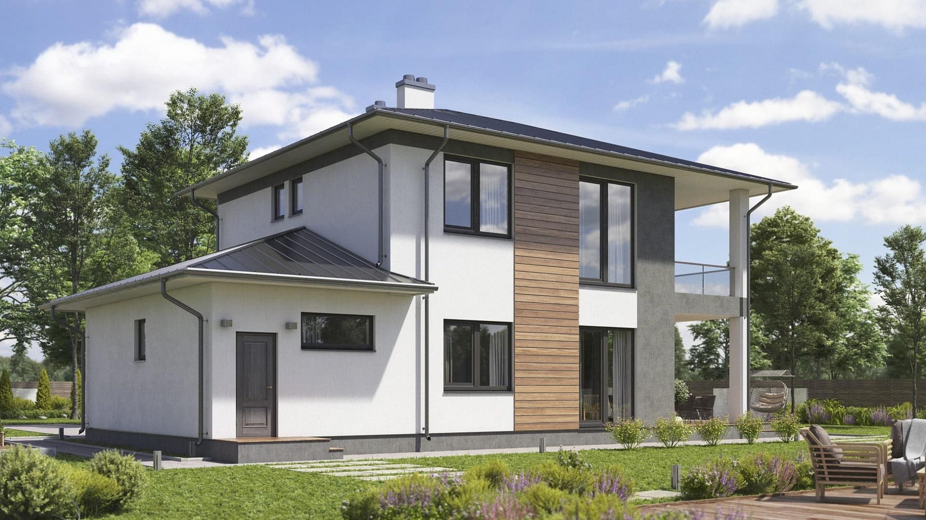 проект дома Свенборг в современном стиле