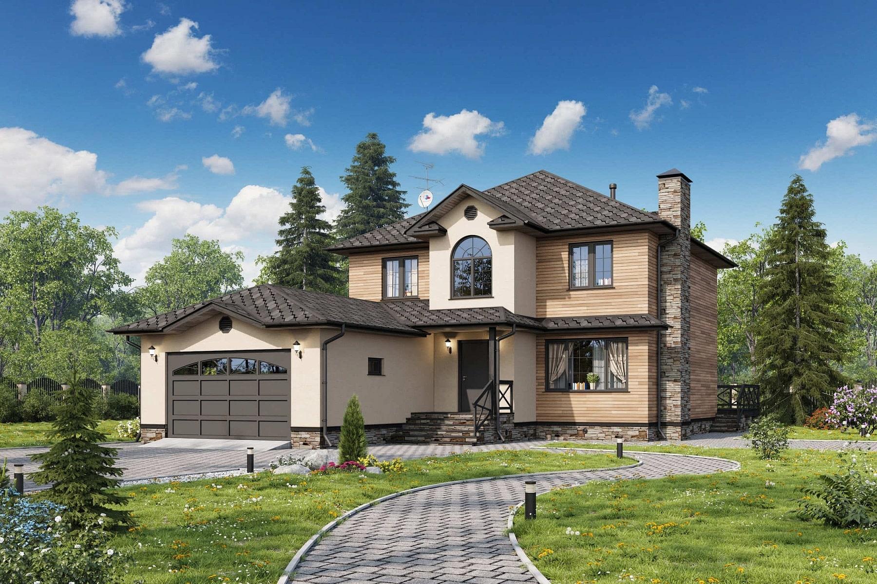 проект дома Денвер в американском стиле